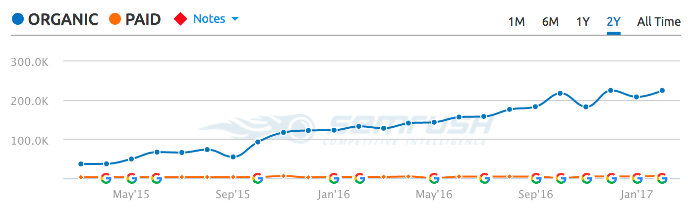 SEO Case Study – 313% More Organic Traffic with REAL Examples